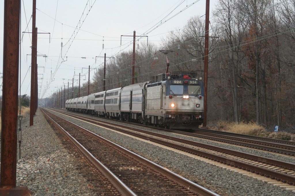 Northbound Amtrak Long Distance Train