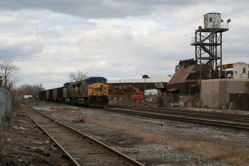 CSX Coal Train at O'Donnell St