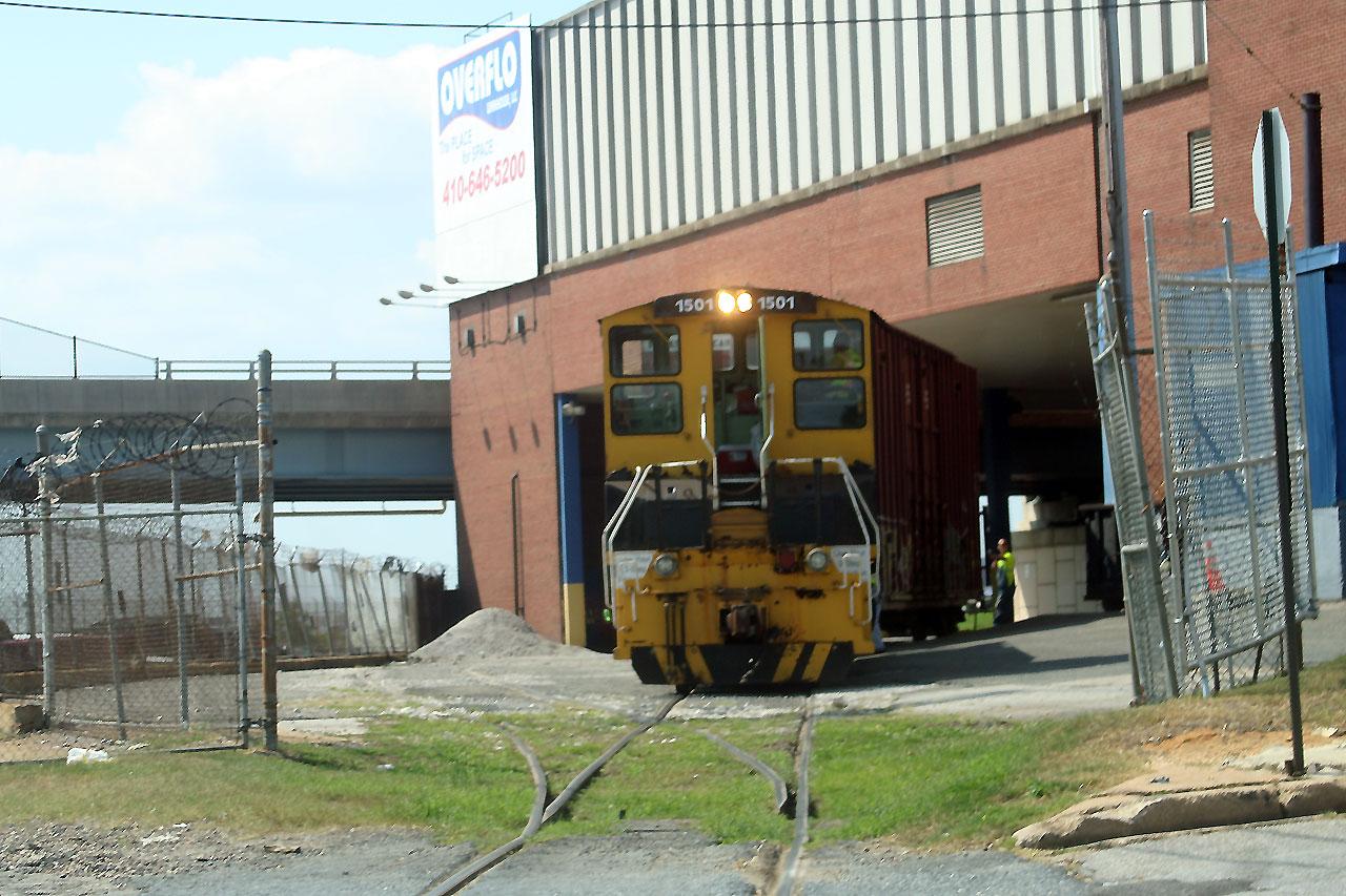 CTN 1501 At Overflo