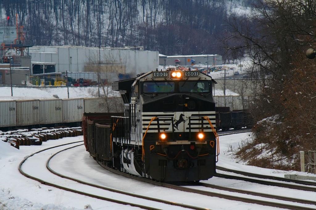 NS Empty Slab Train