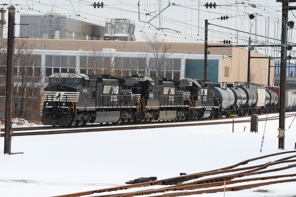 NS Manifest at Harrisburg Station