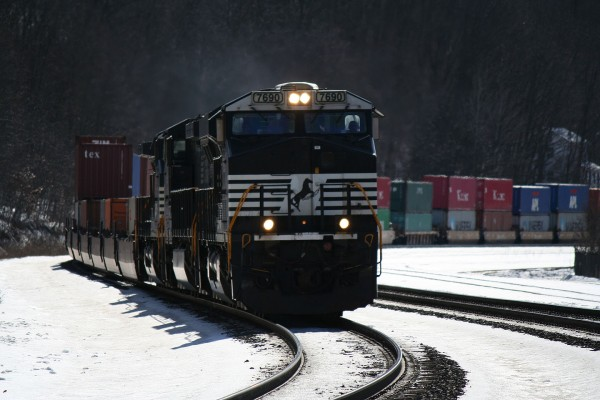 Eastbound NS Intermodal at Tyrone