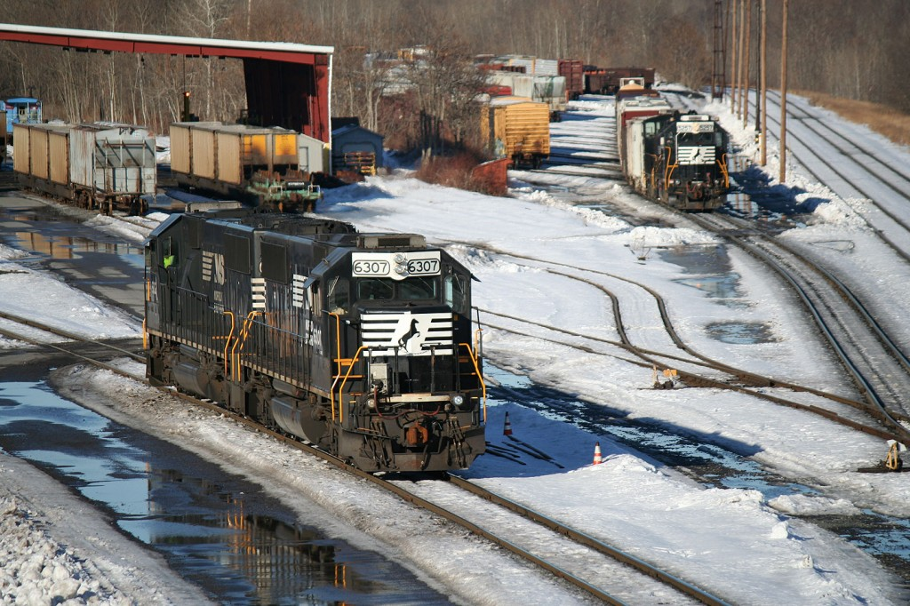 NS Local Working Rose Yard