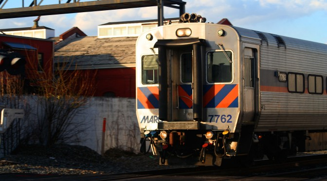 MARC Cab Car At Bush St