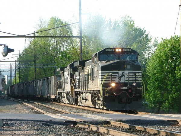 NS Coal Train On The Enola Branch