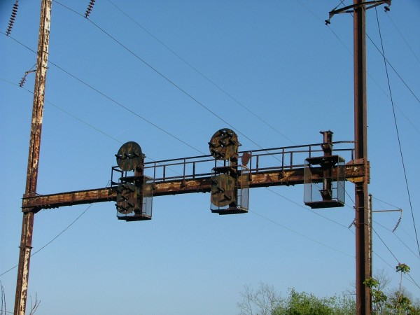 PRR Position Light Signals on the NS Enola Branch