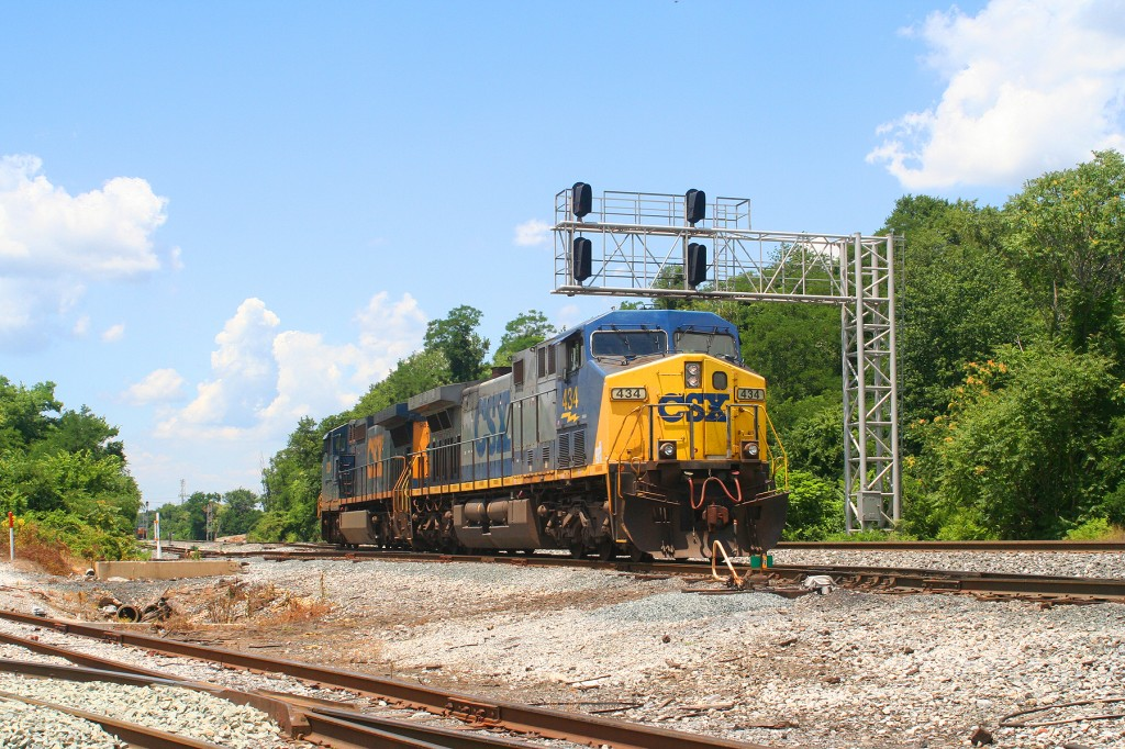 CSX Helpers At Bayview