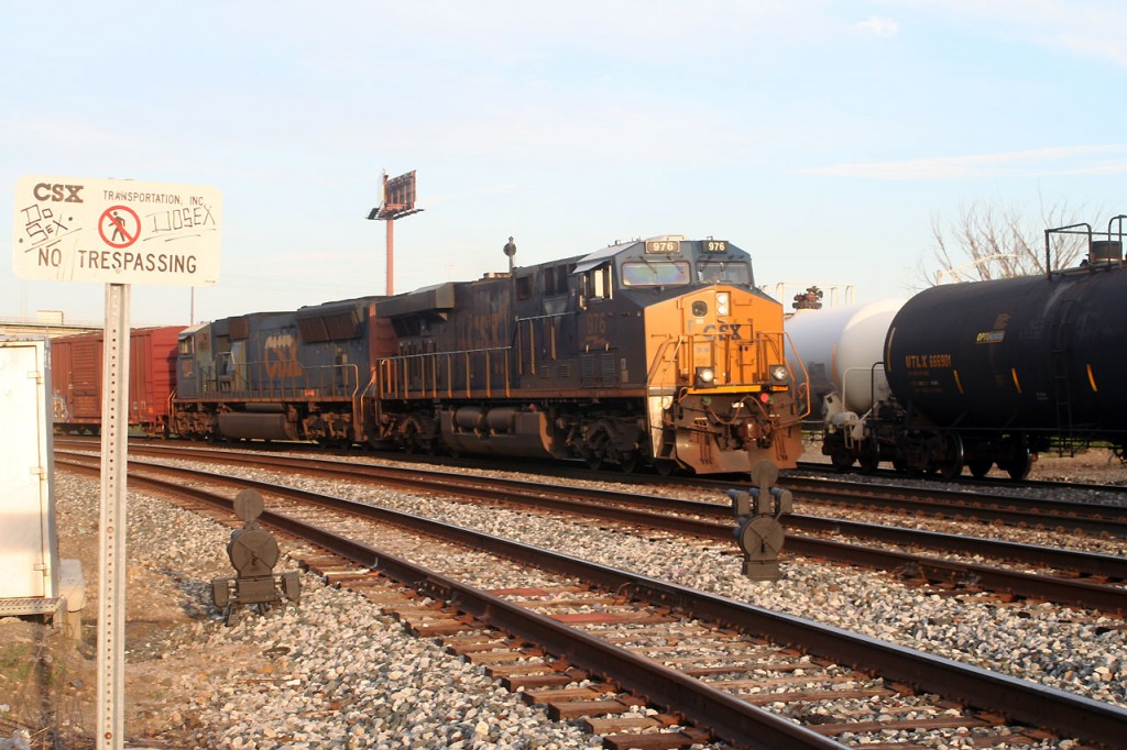 CSX Intermodal At Bailey's Wye