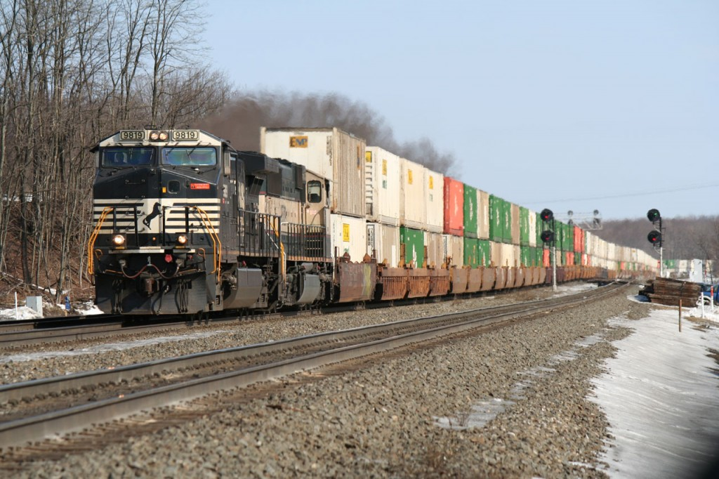Westbound Stacks in Cresson
