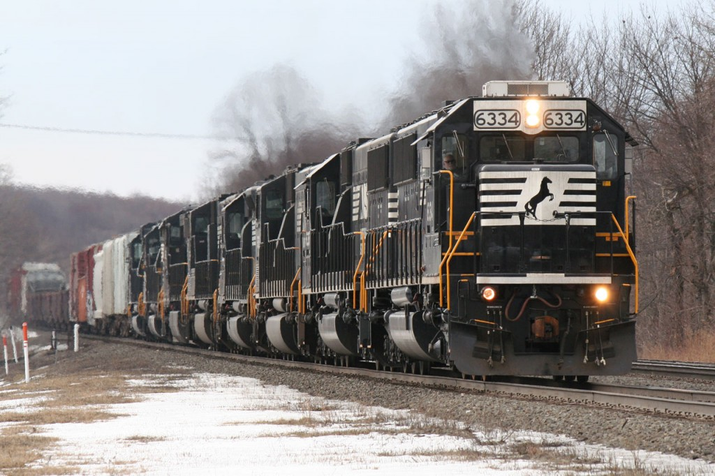 NS 10N at Cresson