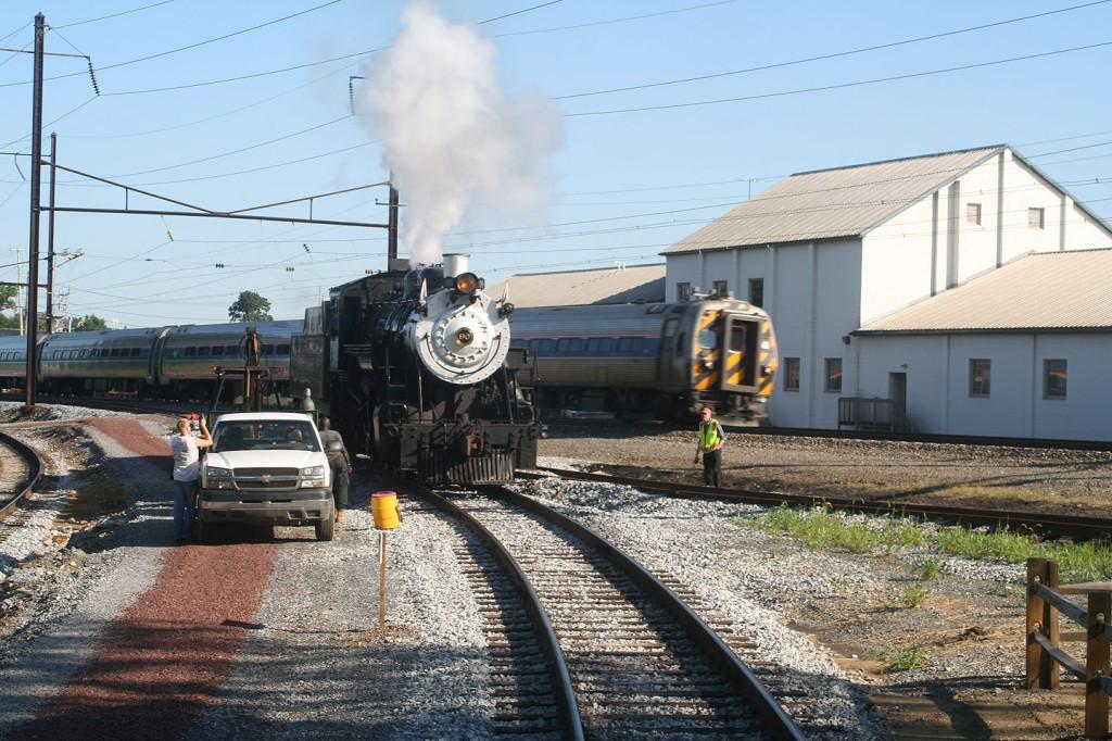 An Amtrak Keystone Service Train Passes 90