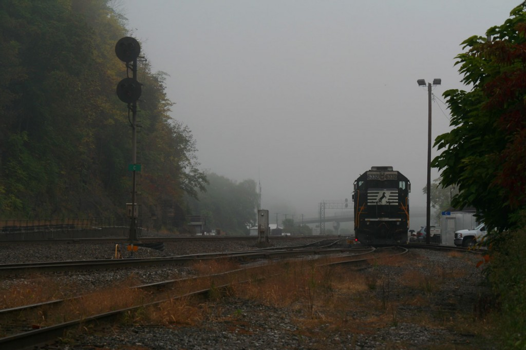 The Morning Scene at the CP C-Signal