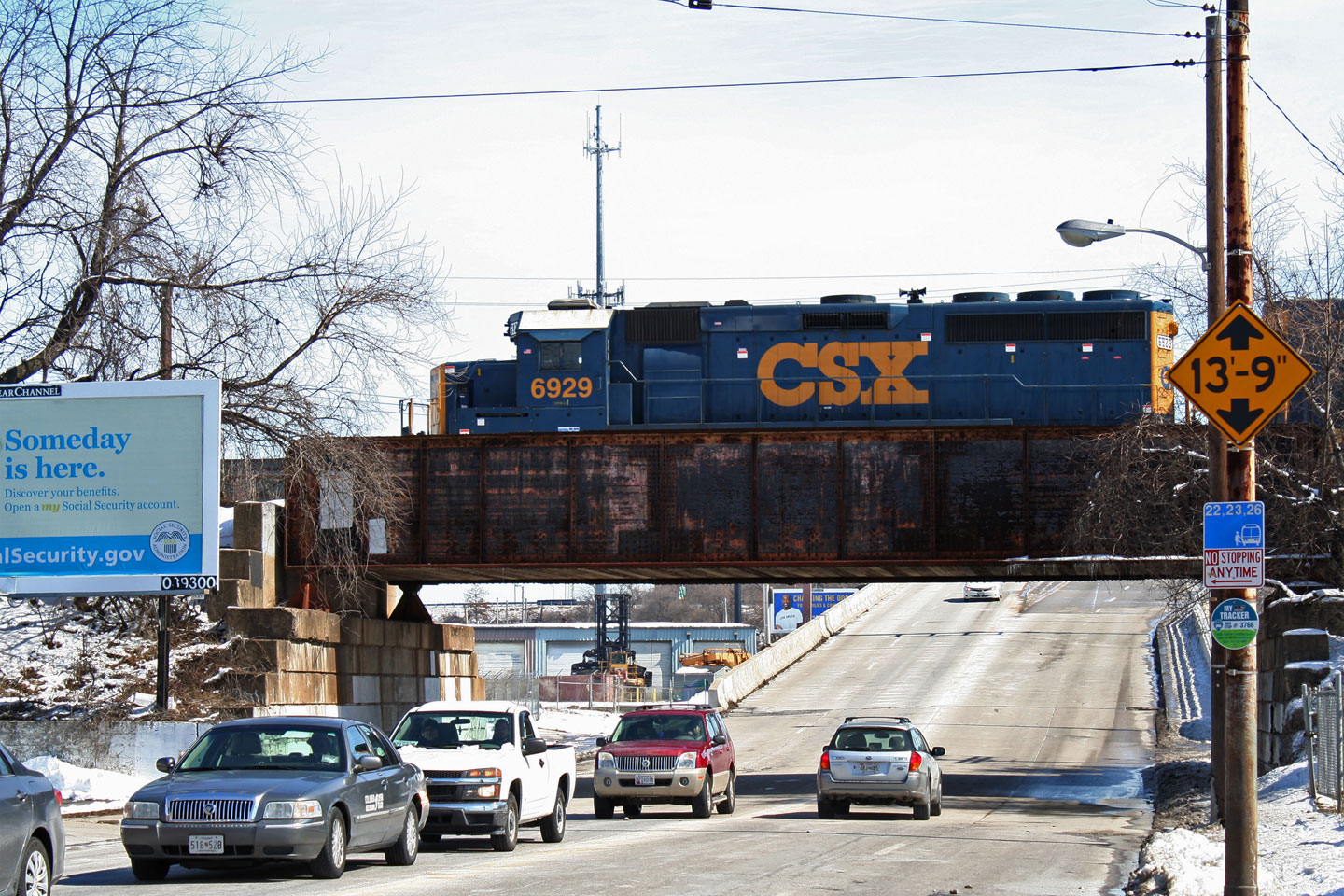 CSX Intermodal Transfer at LombardSt